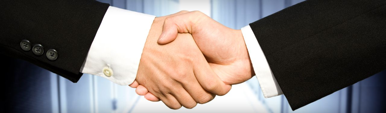 Shaking hands indicate a partnership not founded on a cost basis, which can provide numerous benefits.